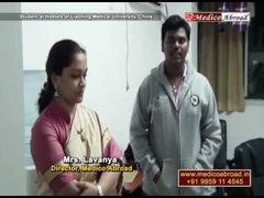 Student of Medico Abroad interviewed at LMU Hostels